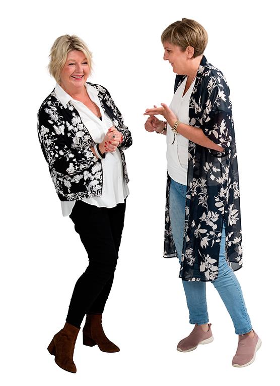 Maria Flanagan Sundqvist & Sara Lindberg